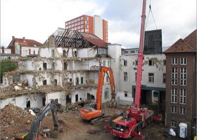 Bauschadstoffuntersuchungen, Abbruchplanungen, Abbruchbegleitung – AP Investhotel Münster GmbH