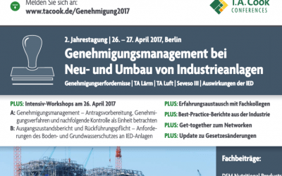 Halbtägiger Workshop | 26. April 2017 von Elsbroek Ingenieure | Fachtagung vom 26. bis 27. April 2017 in Berlin