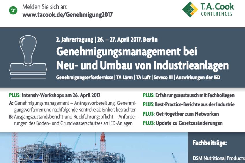 Halbtägiger Workshop | 26. April 2017 von Elsbroek Ingenieure | Fachtagung vom 26. bis 27. April 2017 in Berlin